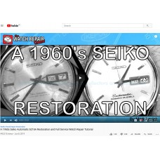 "Дайджест от ""Repair Channel"" - A 1960's SEIKO Restoration"